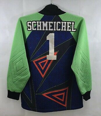 Manchester United Schmeichel 1 GK Shirt 1994/96 Adults Medium Umbro A640 • 149.99£