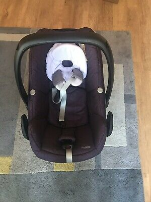 £50 • Buy Maxi Cosi Pebble Car Seat With Raincover, Baby Swaddle And Pram Insert