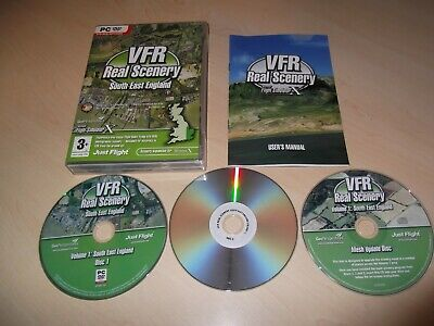 Vfr Real Scenery V.1 South East England Flight Simulator X Fsx Add-on Complete • 4.49£
