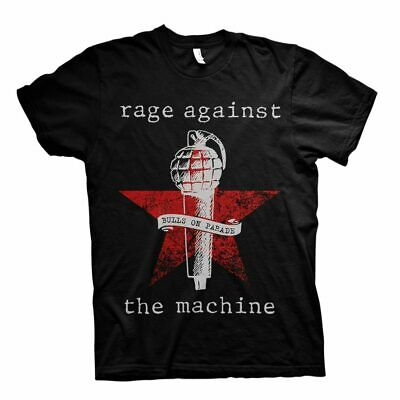Rage Against The Machine T Shirt Bulls On Parade Black Official Rock Metal Merch • 14.88£