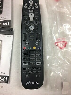 $14.99 • Buy Niles Hand Held Learning Remote R-6l R-8l Designed For Zr4 Multi Zone Receiver