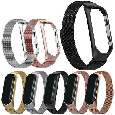 $11.58 • Buy For Xiaomi MI Band 4 Strap Milanese Loop Stainless Steel Wrist Band Luxury