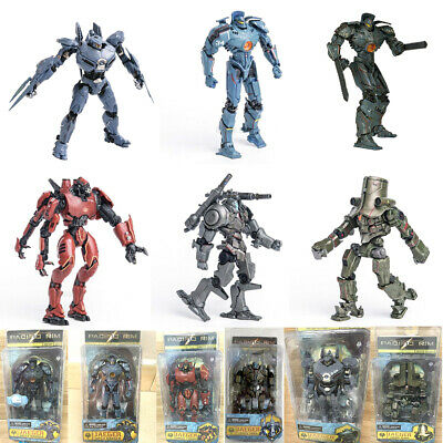$49.99 • Buy 7  Inch Scale Pacific Rim Jaeger Action Figure Toys Gift Set New Box Package