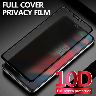 AU5.90 • Buy 10D Privacy Anti-Peep Tempered Glass Screen Protector For OnePlus 7 Pro 7 6T 5T