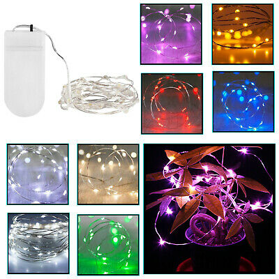 20 LED String Lights Fairy For Window Bedroom Party Indoor Home Decoration • 4.59£