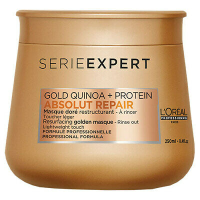 L'Oreal Serie Expert Absolut Repair Gold Quinoa + Protein Light Golden Masque • 15.49£