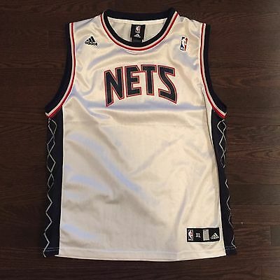 $ CDN17.99 • Buy New Jersey Nets Adidas NBA Jersey Youth Size XL 18/20