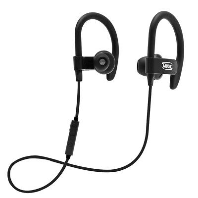 $9.99 • Buy Sport Headset Wireless Bluetooth Headphones Ear-Hook Stereo Bass Earbud With Mic
