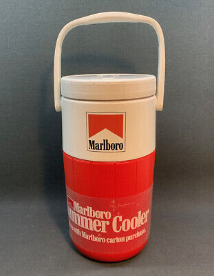 $22.99 • Buy New Vintage Marlboro Summer Water Jug Coleman 2-Liter Insulated Cooler 1990