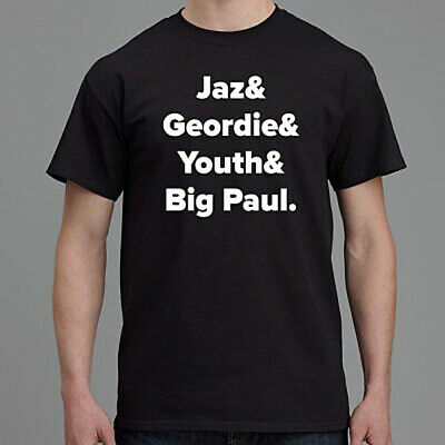 Killing Joke Jaz, Geordie, Youth & Big Paul, Black NEW T-Shirt  • 9.99£