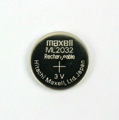 AU5.85 • Buy New Original Maxell ML2032 Rechargeable CMOS Lithium Backup Battery 3V