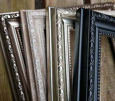 £10.99 • Buy Sussex Photo Picture Frame Square Wedding Antique Style Ornate Wide Wall Mounted