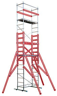 £438 • Buy First 5 -2m Extension Kit **ONLY** For DIY Aluminium Alloy Scaffold Towers
