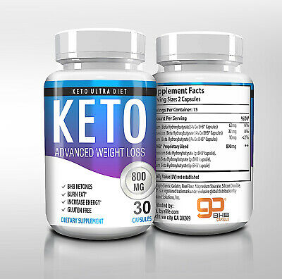 "$11.77 • Buy ☀ Best Keto Diet Pills 800mg Burn Fat- Advanced Weight Loss ""PURE KETO"" USA"