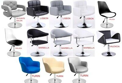 £79.95 • Buy Beauty Spa Salon Gas Lift Hairdressing Salon Chairs Faux Leather, 13 Models !!
