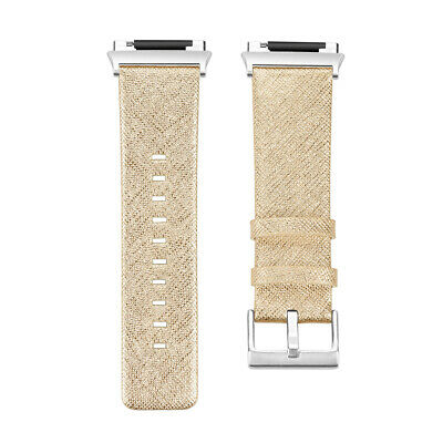 $ CDN18.43 • Buy For Fitbit Ionic Watch Band Leather Strap Sports Wristband Replacement Bands