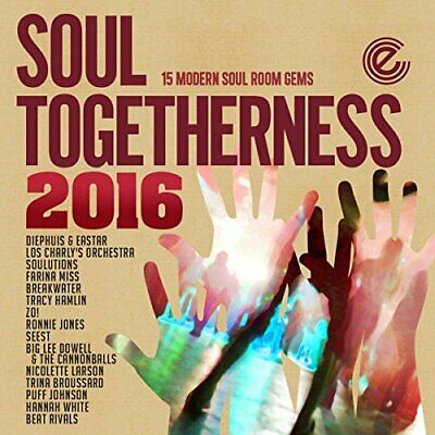 Various - Soul Togetherness 2016 - CD - New • 12.50£