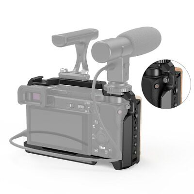 AU93.02 • Buy SmallRig Cage Kit With Wooden Handgrip For Sony A6400 /A6300/A6500 2310+2318