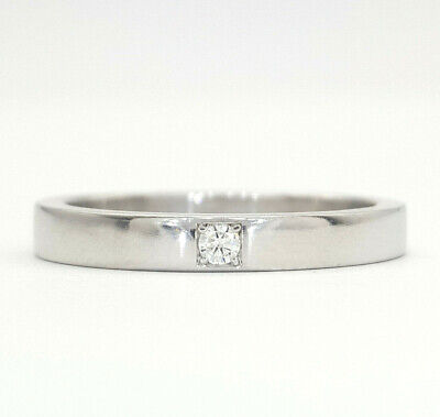 AU1449 • Buy Genuine Bvlgari Ladies Ring Platinum (950) MarryMe Diamond Wedding Band Ring