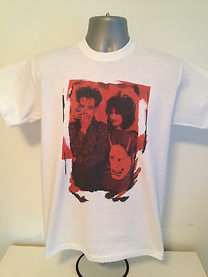 The Cure And Siouxsie And The Banshees T-shirt - Sioux Post Punk New Wave Goth • 12.99£