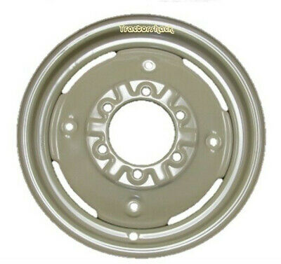 Massey Ferguson 35 Front Wheel Rims 450 X 16 To Fit 600 X 16 Tyre : A PAIR OF   • 77.95£