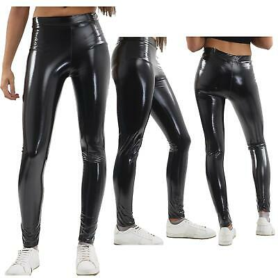 £6.99 • Buy New Womens American Apparel Style Stretchy Shiny Snake Skin Disco Pants Trousers