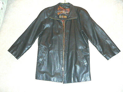 $ CDN74.50 • Buy Danier Leather Ladies Coat Jacket Chocolate Brown Size Small 3/4 Length Exc Cond