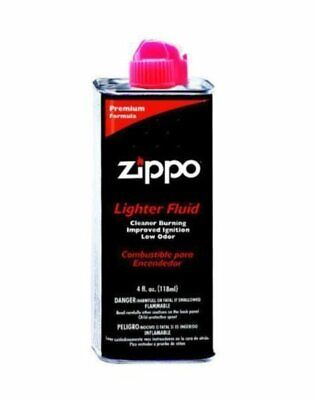 $5.92 • Buy Zippo Premium Lighter Fluid, (1-Can) 4 Oz / 118 Ml, For All Flint Lighters #4FC