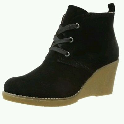 $ CDN59.53 • Buy Kelsi Dagger Brooklyn Ontario Suede Wedge Ankle Boots/Bootie Sz 7 $150