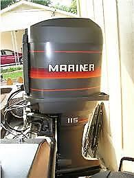 AU30 • Buy OUTBOARD MOTOR WRECKING 115HP MARINER MERC 2 STROKE PARTS FROM $20 Control Cable