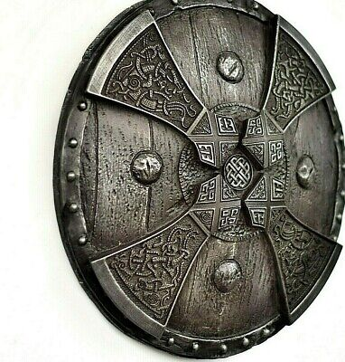 Viking Norse Axes On The Shield Iron Wall Sculpture Home Room Decor  Gift • 55£