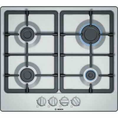 £219.99 • Buy BOSCH Serie 4 PGP6B5B90 Gas Hob - Stainless Steel