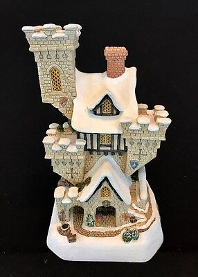 £201.09 • Buy David Winter ~ CHRISTMAS CASTLE ~ LARGE ~ MIB ~ COA ~ NUMBERED LIMITED EDITION