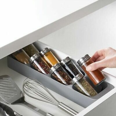 AU30 • Buy Joseph Joseph DrawerStore Compact Spice Jar Organiser Kitchen Utensil GREY