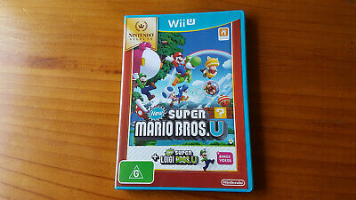 AU100 • Buy New Super Mario Bros U WiiU Nintendo Game