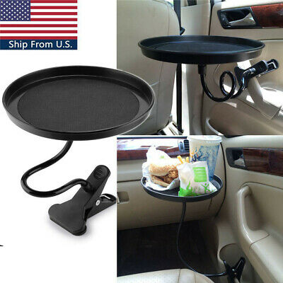 $34.99 • Buy Auto Plastic Car Swivel Mount Holder Travel Cup Drink/Cafe Table Stand Food Tray