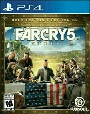 AU113.64 • Buy Far Cry 5 - Gold Edition Steelbook + Game [PS4] New And Factory Sealed!!