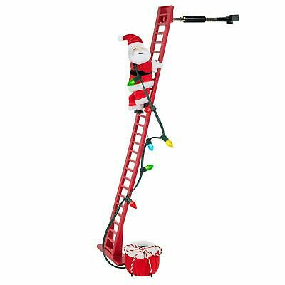 $299.99 • Buy Wondershop Christmas Xmas Decor Decoration Indoor Animated Climbing Santa