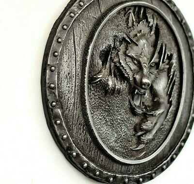 Odin's Wolf Fenrir Wall Mount Sculpture Viking Norse Mythology Home Decor Gift • 55£