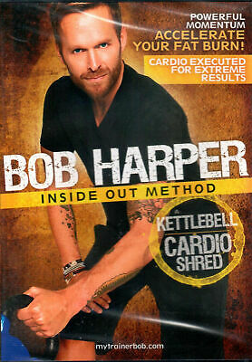 Bob Harper - Inside Out Kettlebell Cardio Shred Method - BRAND NEW SEALED • 23.10£