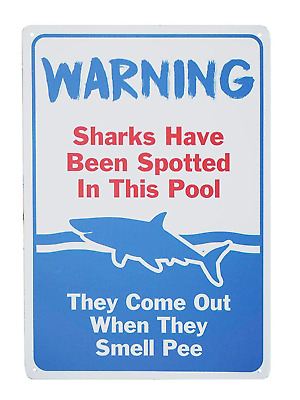 Funny Swimming Pool Signs