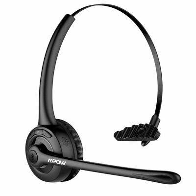 Mpow Pro Bluetooth Headset Office Car On Ear Headphone W/Mic For Driver Skype UK • 20.49£