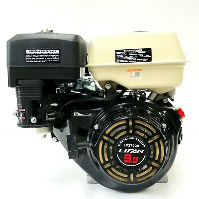 AU512.25 • Buy LF2702R 9Hp Recoil Start Petrol Engine With 2:1 Reduction Wet Clutch Gearbox