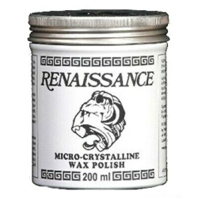 Renaissance® Wax Polish 200ml Micro Crystalline Car Instruments Clocks  - HP153 • 16.74£