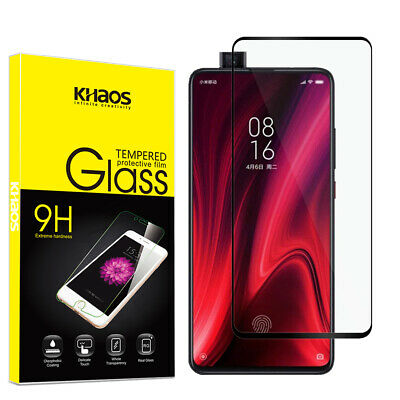 $6.59 • Buy KS For Xiaomi Mi 9T/ MI 9T Pro Full Cover Tempered Glass Screen Protector -Black