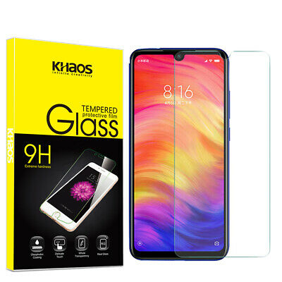 $6.45 • Buy Khaos For Xiaomi Redmi Note7S /Note 7 Pro Tempered Glass Screen Protector