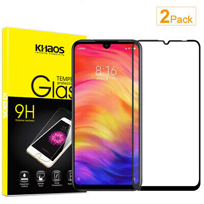 $7.99 • Buy 2X KS For Xiaomi Redmi Note7S /Note 7 Pro Full Cover Glass Screen Protector