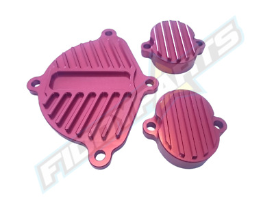 Pitbike Yx150 Yx160 Klx Red Style Engine Covers Cam Valves Dress Up • 27.75£