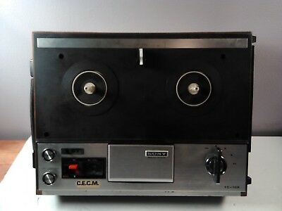 $44.49 • Buy Vintage - Sony Tc-106 Tapecorder Reel To Reel Tape Player- For Parts