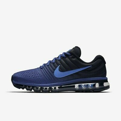$108.99 • Buy NIKE AIR MAX 2017 MEN'S RUNNING SHOE 849559 401 Dp Royal Blue/Cobalt Multi Size